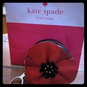 "Kate Spade ""Ooh La La"" Poppy Coin Purse"